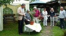 Taufpate: Herr Werner Thumann vom Kreisverband Neumarkt